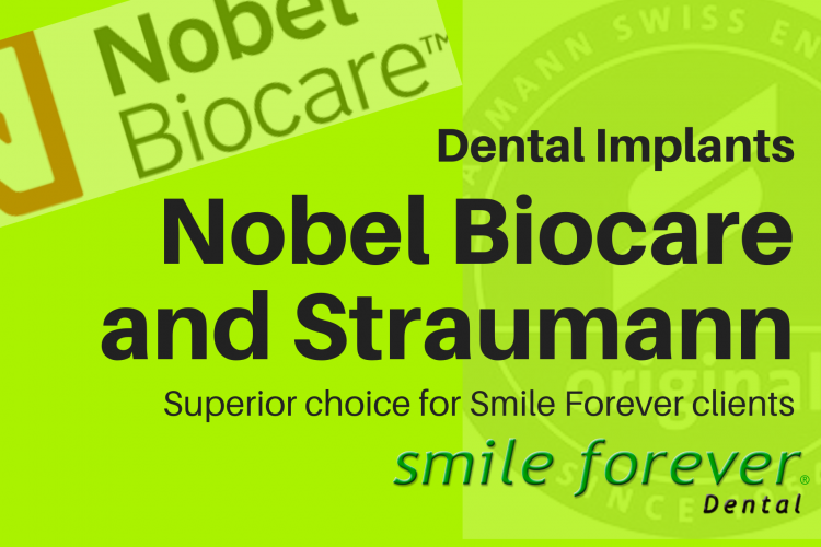Best Dental Implant Brands Nobel Biocare and Straumann